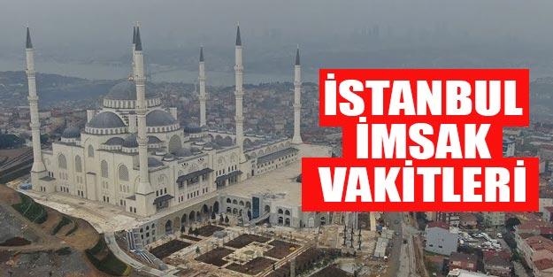 Ramazan imsakiyesi İstanbul 2019