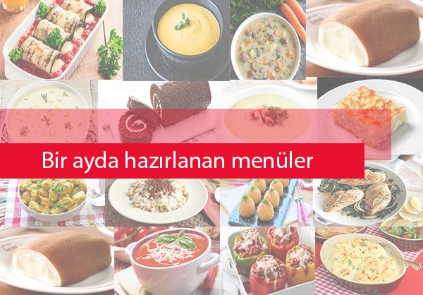 Ramazanda hangi yemekleri yaptık? Bir aylık ramazan menüsü