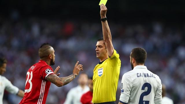 Real Madrid-Bayern Münih maçında skandal yönetim