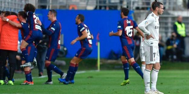 Real Madrid, Eibar karşısında fena dağıldı