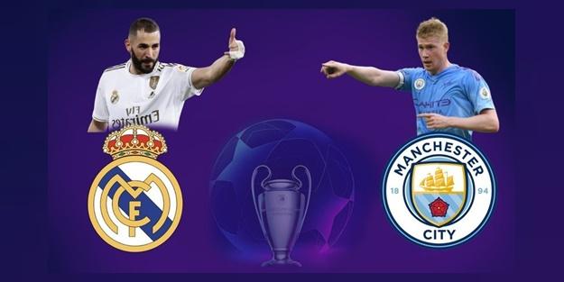 Real Madrid Manchester City maçı muhtemel 11'leri
