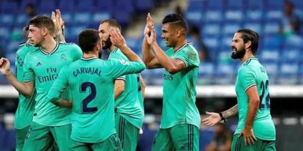 Real Madrid şampiyonluk yarışında emin adımlarla ilerliyor