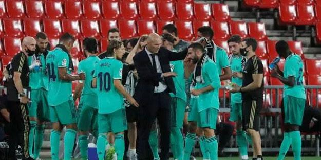 Real Madrid şampiyonluk yolunda ilerliyor