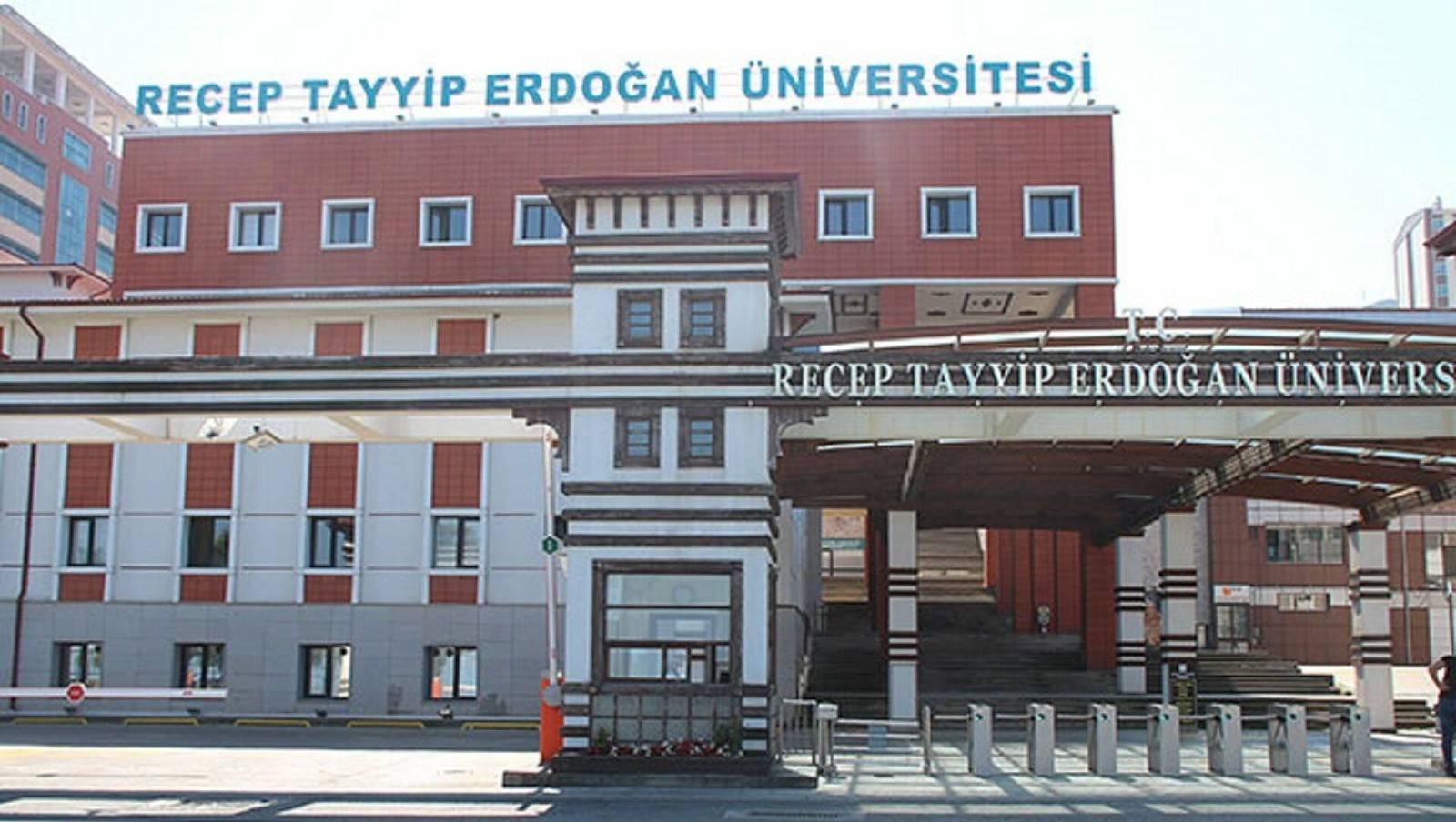Recep Tayyip Erdoğan Üniversitesi öğretim elemanları alacak