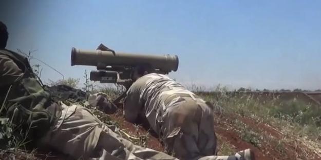 Rejim güçlerine güdümlü füze saldırısı