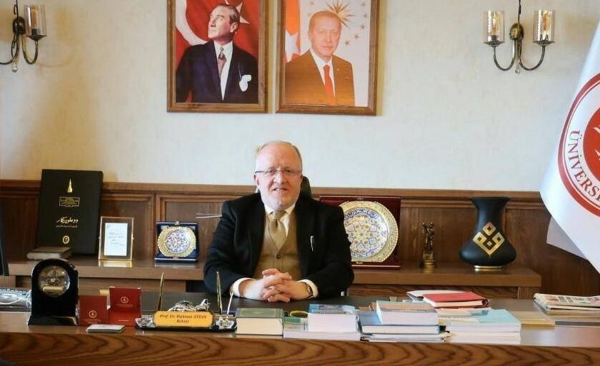 """Rektör Aydın: """"Türkiye inançla hareket eden insanların emekleriyle yükselmektedir"""""""