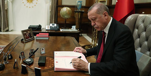 Resmi Gazete'de yayımlandı! Cumhurbaşkanı Erdoğan o bölgeleri