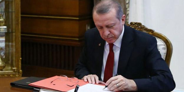 Resmi Gazete'de yayımlandı! Cumhurbaşkanı Erdoğan'ın kararıyla 7 atama yapıldı