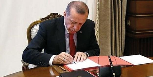 Başkan Erdoğan'dan kritik atamalar!