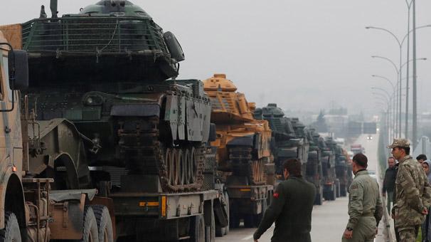 Reuters dünyaya bu fotoğraflarla duyurdu! Türk ordusu...