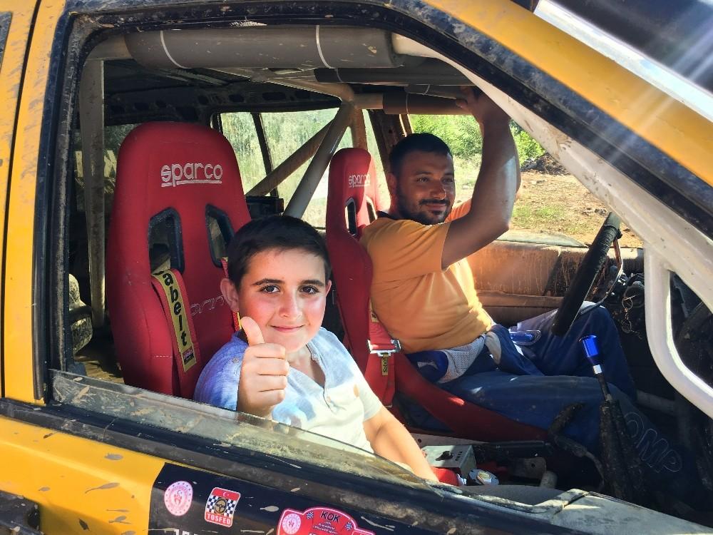 Rize'de kimsesiz çocukların Ofroad heyecanı