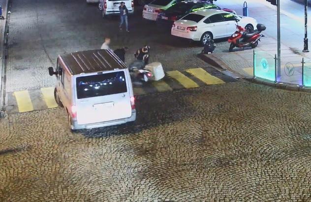 Rize'de son 1 yıl içinde yaşanan kazalar MOBESE kameralarına böyle yansıdı