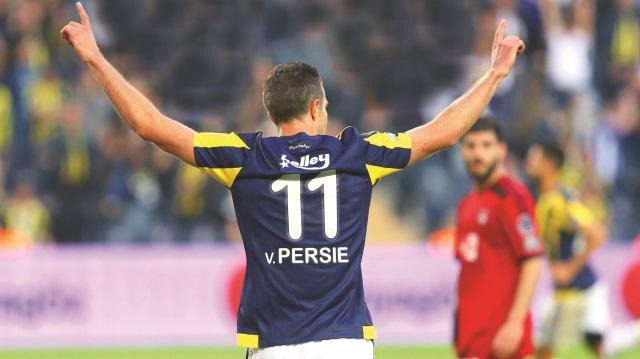 Robin van Persie şov: 3-0