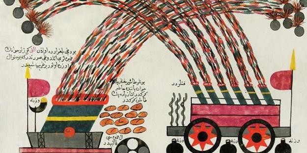 Roketi ilk Osmanlı keşfetmiş