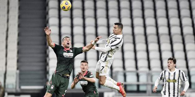 Ronaldo yine fizik kurallarını alt üst etti