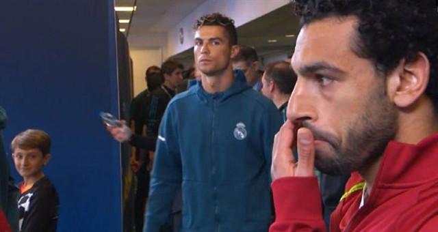 Ronaldo'nun Salah'a bakışı Şampiyonlar Ligi'ne damga vurdu