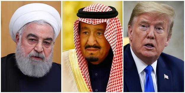 Ruhani Trump ve Selman'ı bombaladı