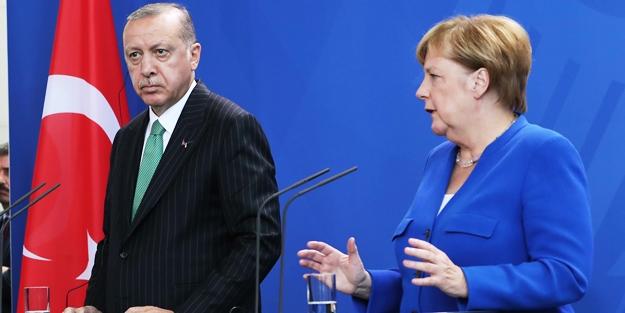 Rumlardan Merkel'e Erdoğan telefonu!