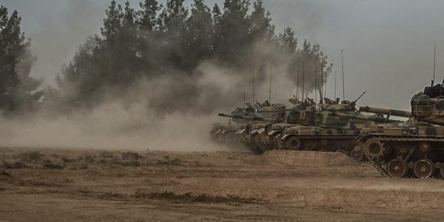 TSK, YPG'yi vuruyor