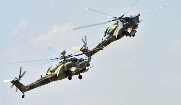 Rus askeri helikopteri düştü! Tüm mürettebat hayatını kaybetti