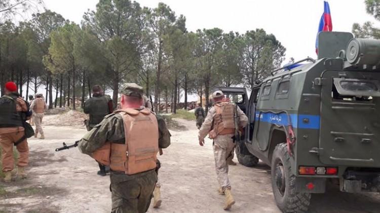 Rus askerleri Afrin'den çekiliyor!
