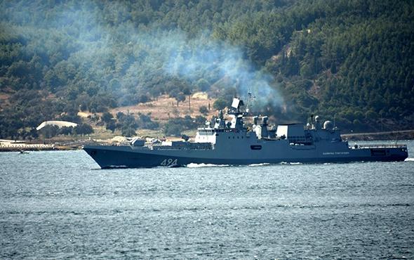 Rus donanması Akdeniz'de!