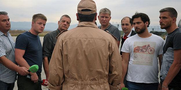 Rus pilotu kurtaran Suriye askerlerine madalya
