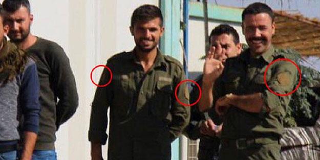 Rus polisiyle görüntülenen teröristlerin elbisesi dikkat çekti!