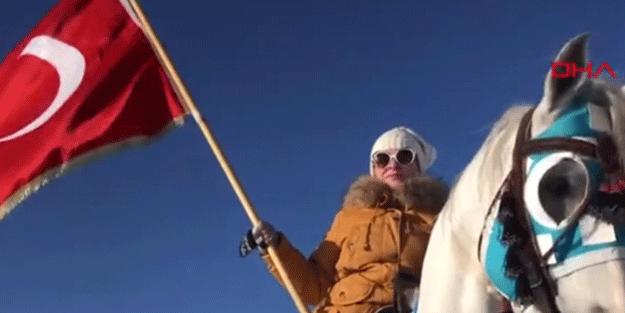 Rus rehber cirit atıyla özlem giderdi