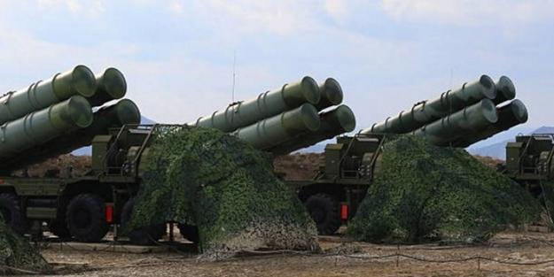 Rus S-400 füze savunma sistemi