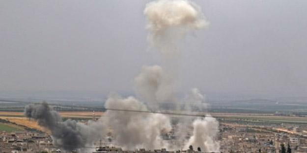 Rus uçakları 24 gün sonra yeniden bombaladı