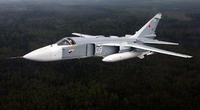 Rus uçakları ilk kez böyle uçtu