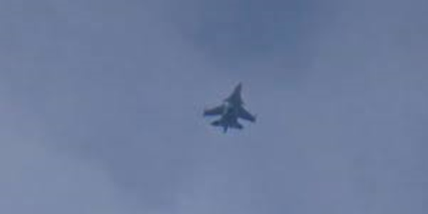 Rus uçakları sığınaklarını bombaladı