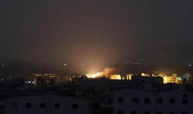 Rus uçaklarından İdlib'e fosfor bombalı saldırı düzenledi