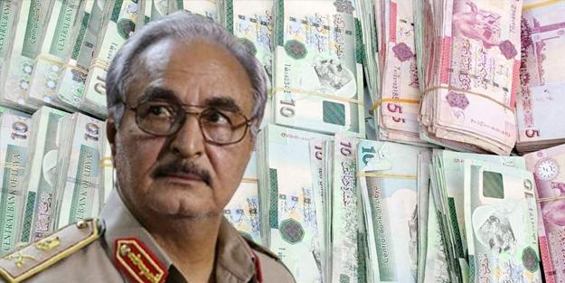 Ruslar, Hafter için sahte para bastı