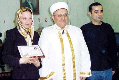 Ruslar İslam'la tanışıyor