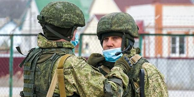 Rusya askerlerin görüntülerini paylaştı