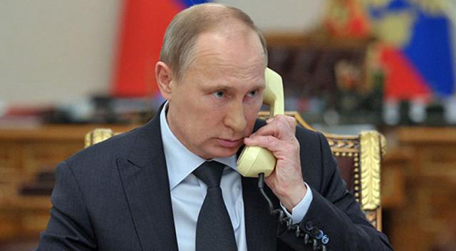 RUSYA DEVLET BAŞKANI PUTİN, MACRON VE MERKEL İLE TELEFONDA GÖRÜŞTÜ
