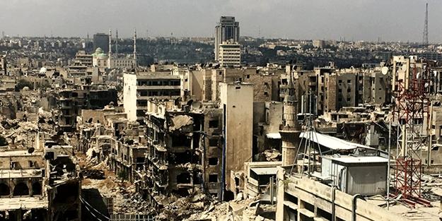 Rusya havadan, İran destekli gruplar karadan saldırdı! Halep düştü