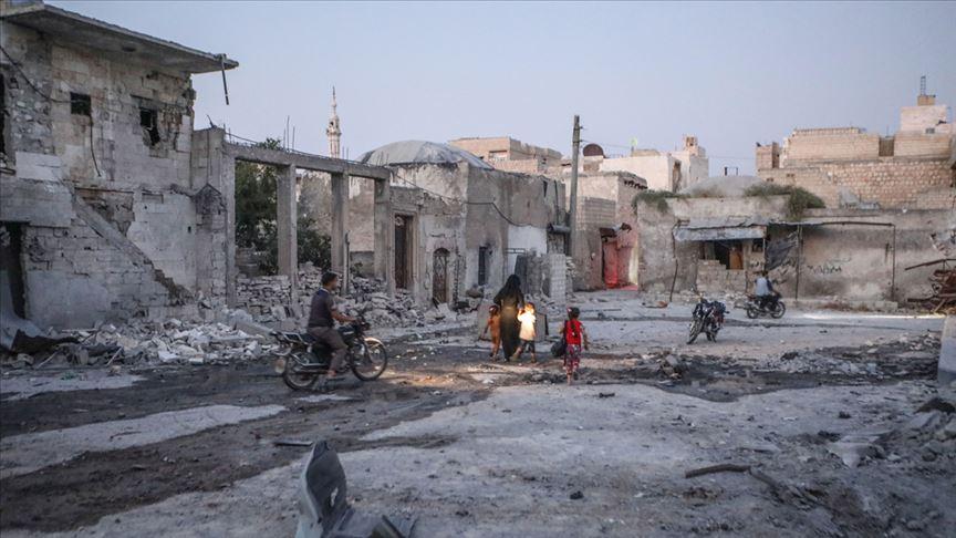 Rusya İdlib'e 24 gün sonra yeniden saldırı başlattı