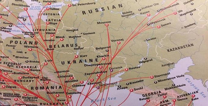 Rusya ile kriz bitti uçak seferleri yükseldi