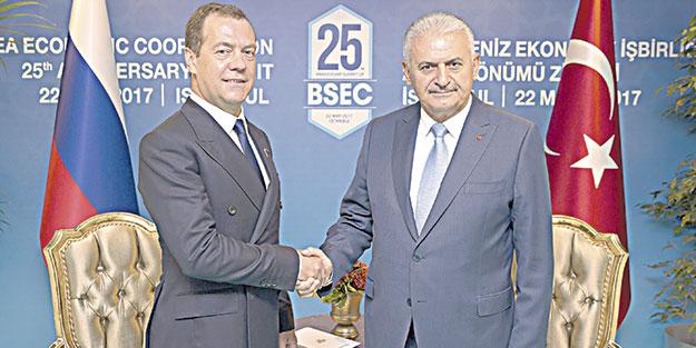 Rusya ile ticarette tam serbestlik