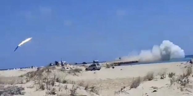 Rusya, Fransa, Mısır ve BAE'ye umut kestiren video: Hafter güçlerinin füze atışı alay konusu oldu!