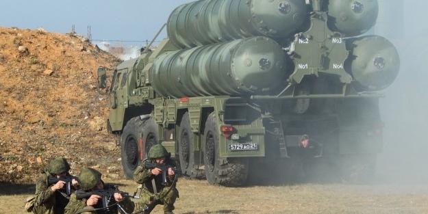 Ve Rusya S-400'leri ateşledi!