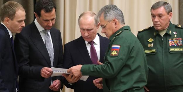 Rusya Savunma Bakanlığı dünyaya duyurdu: Putin'den Esed talimatı