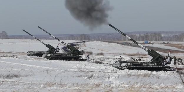 Rusya Savunma Bakanlığı görüntüleri paylaştı! Dünyann en güçlü sistemlerinden biri