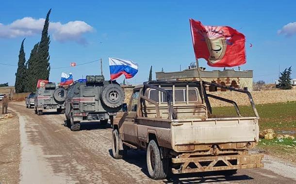 Rusya Suriye'de hangi bölgelerde devriye geziyor?