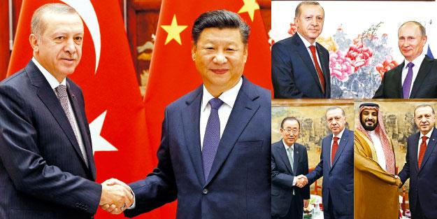 Rusya ve Çin'le güçlü adımlar