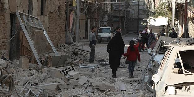 Rusya ve Esed yine bombaladı: 54 ölü