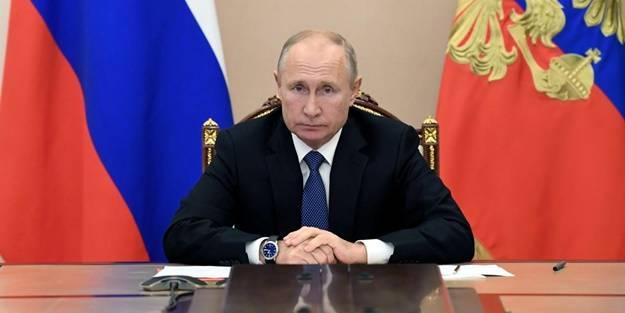 Rusya'da flaş gelişme! Putin duyurdu: En yüksek seviyede